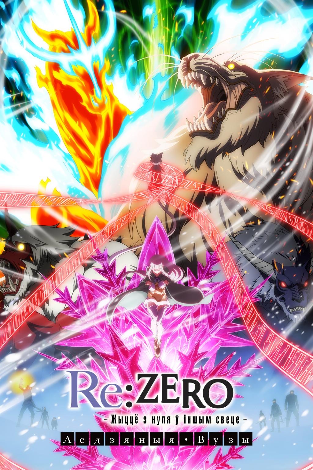 Re:Zero kara Hajimeru Isekai Seikatsu – Hyouketsu no Kizuna, Re:Zero. Жыццё з нуля ў іншым свеце: Ледзяныя вузы, re:zero-kara-hajimeru-isekai-seikatsu-hyouketsu-no-kizuna