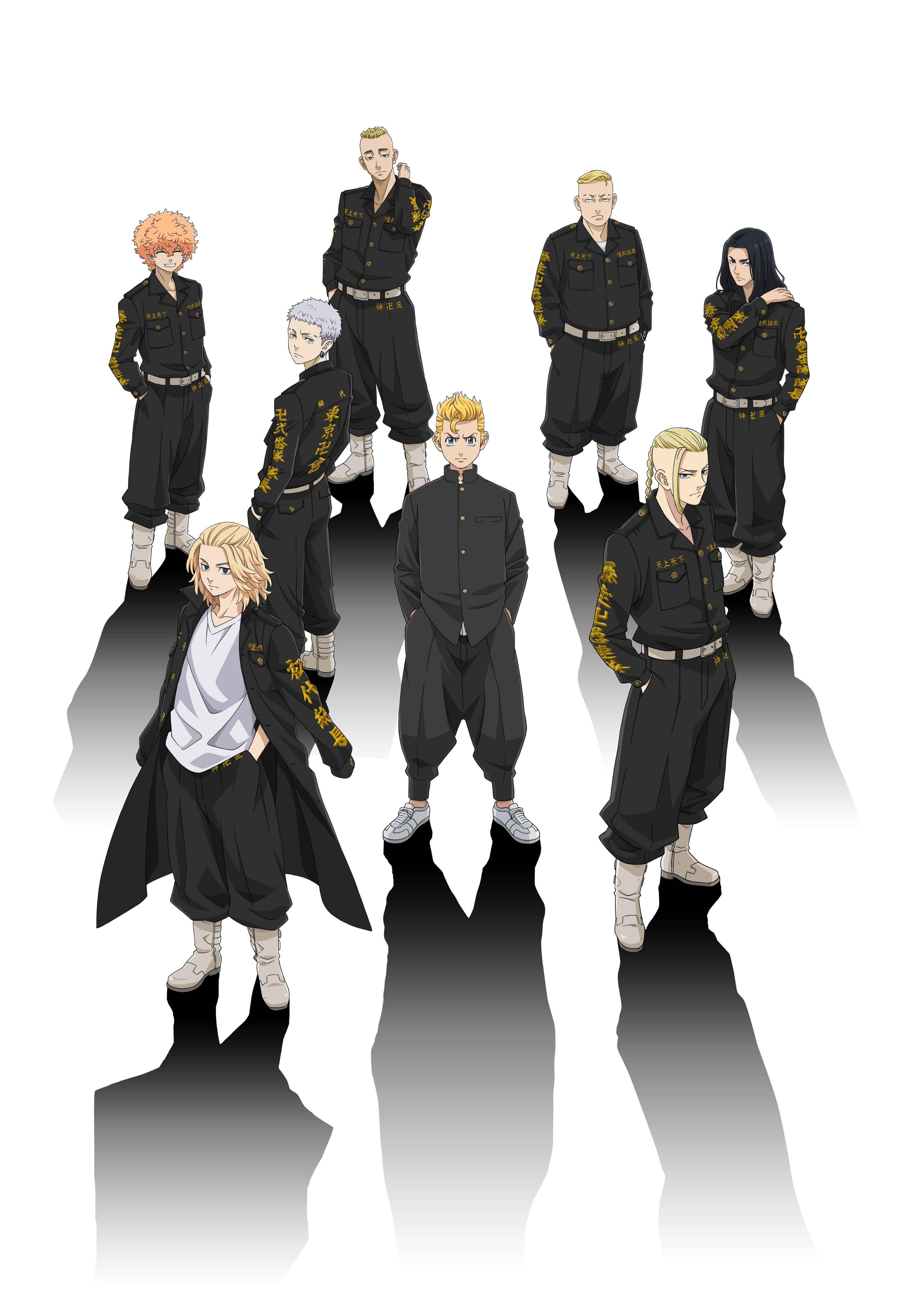 Tokyo Revengers, Токийские мстители, tokyo-revengers